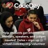 Virtual CodeDay Volunteer Recruiting Square